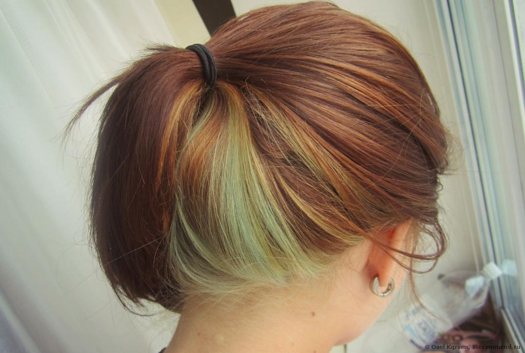 Как осветлить окрашенные волосы хной