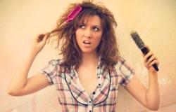 Как уложить жёсткие от природы волосы