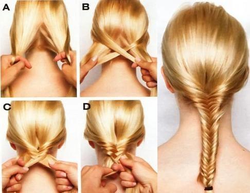 Как сделать красивую прическу косу
