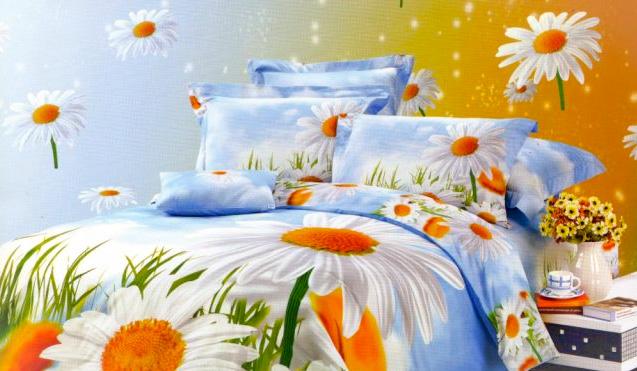 Чем так привлекает трехмерное постельное белье?