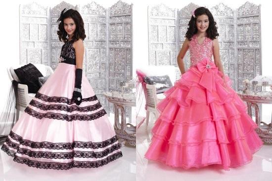 Красивые платья для девочки 9-10 лет