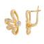 Золотые серьги – универсальные украшения для самых разных случаев