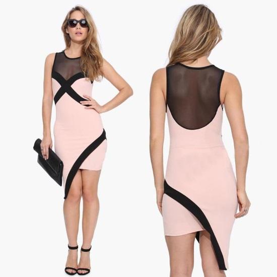 Stylish-Lady-Women-s-Casual-Spring-and-font-b-Summer-b-font-font-b-Dress-b