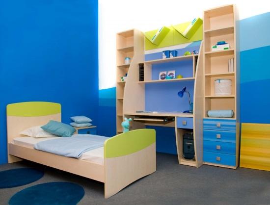 Основные критерии и параметры выбора мебели в детскую комнату