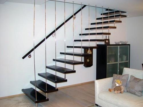 Основные разновидности лестниц на второй этаж