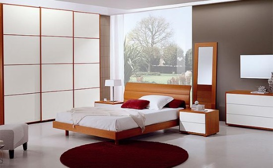 Как выбрать хорошую корпусную мебель для небольшой спальни