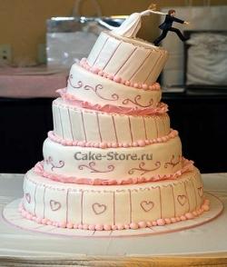 Свадебные торты на заказ от Cake-Store.ru