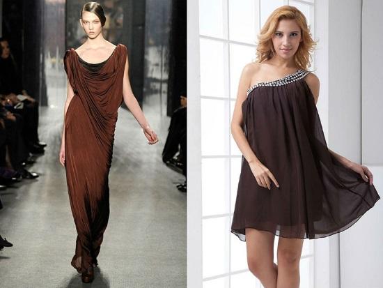 Загадочность женщины в выборе платья