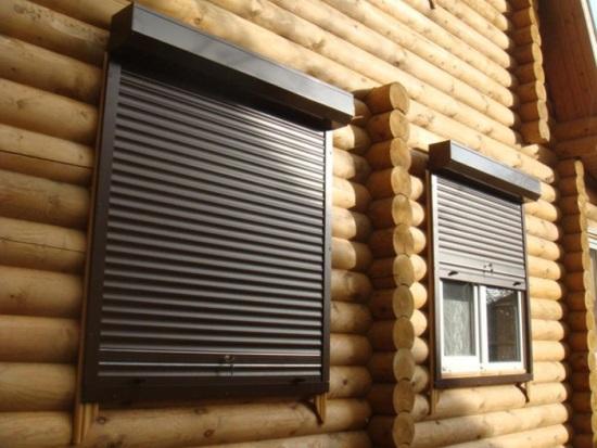 Рольставни как современная альтернатива решеткам на окнах