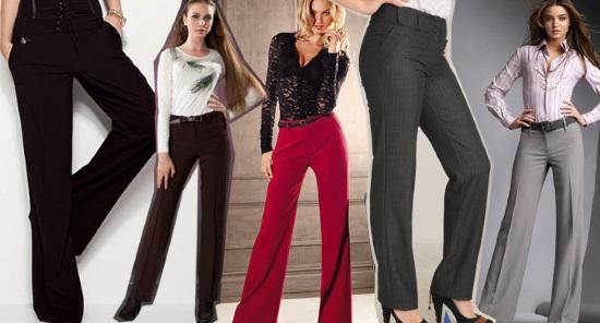 Как выбирать женские брюки по фигуре