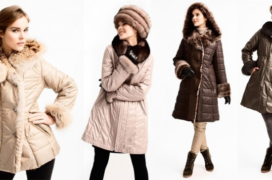 Виды женской зимней одежды