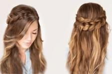 Красивые прически на длинные волосы своими руками