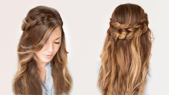Красивые простые прически на длинные волосы фото