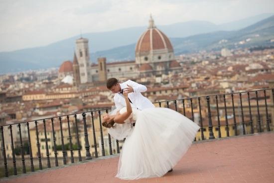 Праздник невероятной красоты - свадьба в Италии