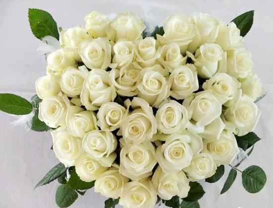 Что означает букет белых роз, преподносимый в подарок