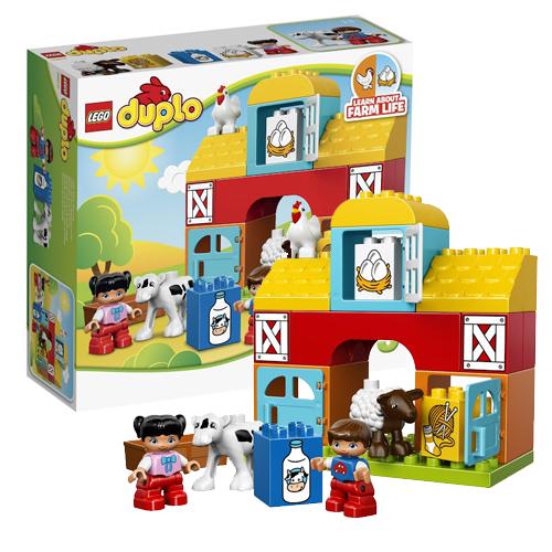 Что дает ребенку конструктор LEGO DUPLO