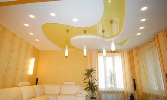 Какими преимуществами отличаются натяжные потолки