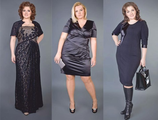 Как выбрать женское платье для полных женщин