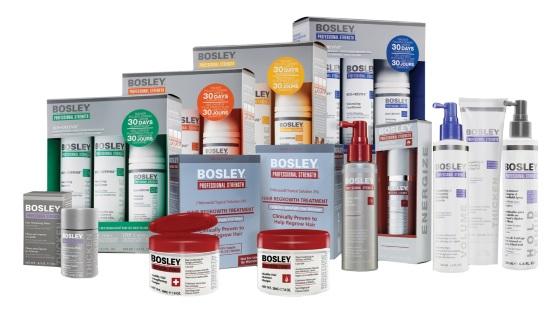 Bosley: уход, терапия, стайлинг