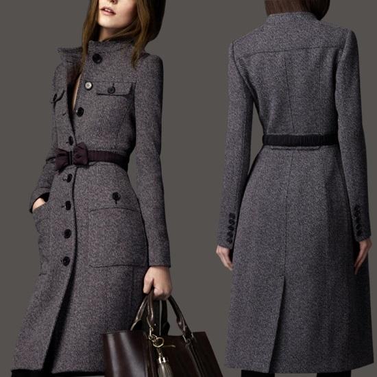 Пальто из шерсти – элегантность в женском образе