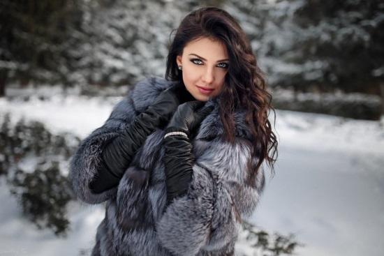 Женская шуба – какие меха являются самыми теплыми