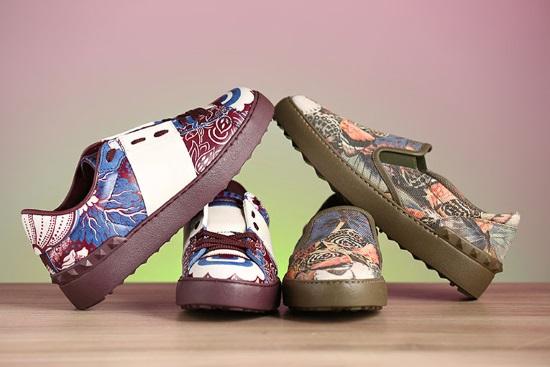 Какую обувь лучше выбрать Valentino или Gucci
