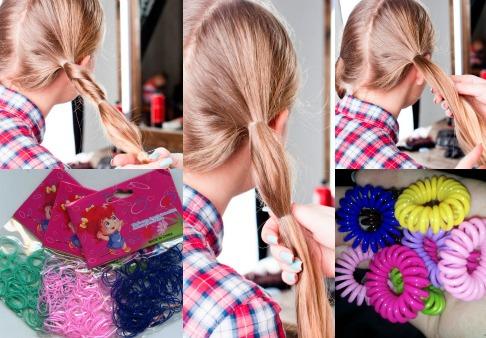 Красивая прическа начинается с выбор хорошей резинки для волос