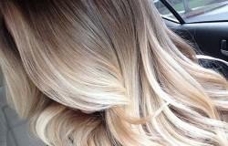 Особенное окрашивание на светлые волосы или шатуш блонд