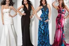 Статья про виды вечерних платьев