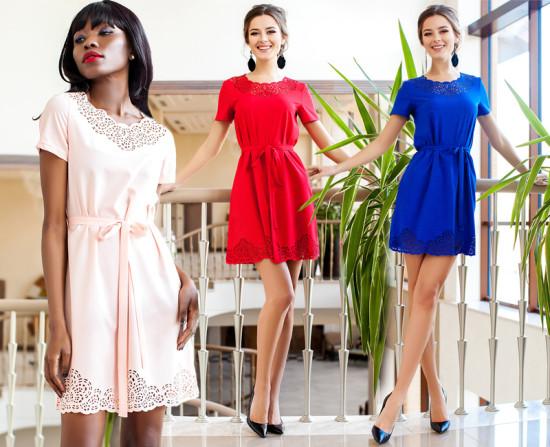 Виды женских платьев и их описание