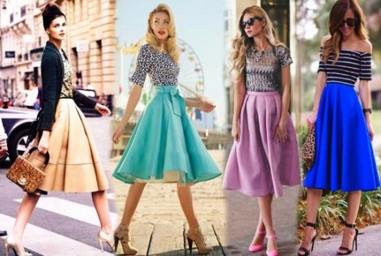 Модные фасоны юбок и основные тенденции