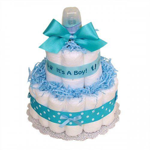 Самый лучший подарок для младенца своими руками: торт из памперсов
