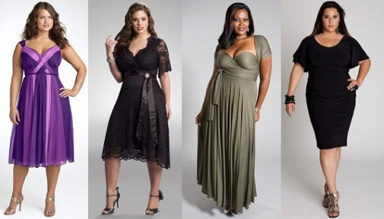 Как выбрать хорошее платье для полненьких девушек?