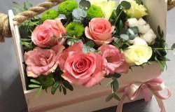 Доставка цветов Омск от Bflorist.ru имеет большой каталог букетов для шефа